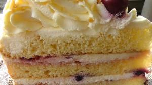 máslový dort