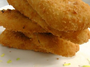 Smažené rybí