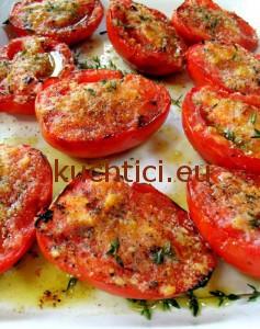 Zapečená rajčata s mozarellou