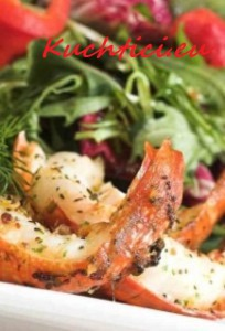Salát-s-chřestem-a-krevetami-204x300