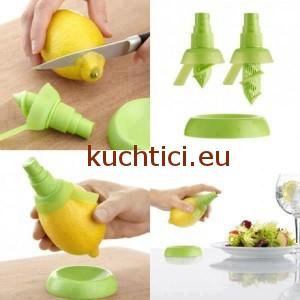 Jak udělat z citronu rozprašovač štavy na saláty